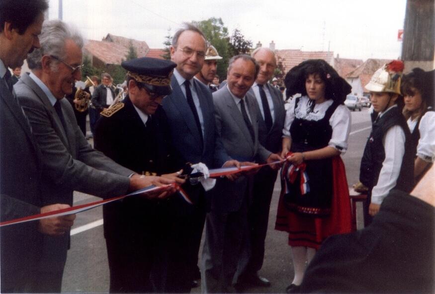 Inauguration de la caserne