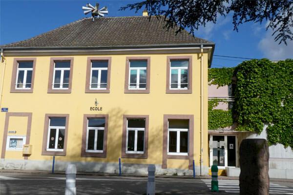 école Rue de l'église à Rustenhart